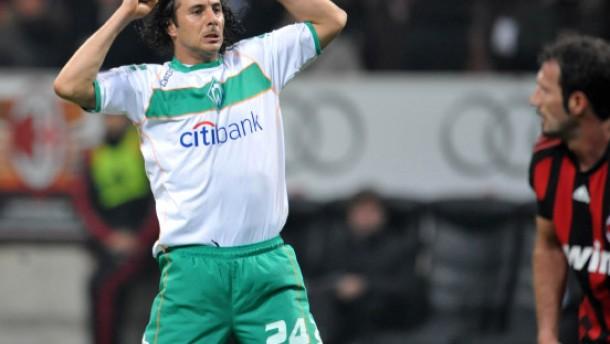 2:2 - Werder Bremen wirft den AC Mailand raus