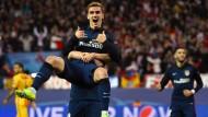 Atletico Madrid zieht ins Halbfinale ein
