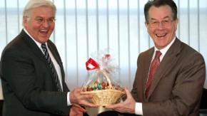 SPD-Präsidium - Steinmeier Müntefering