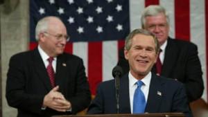 Bushs Rede vor dem Kongress