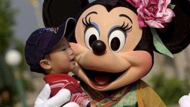 Mickey Mouse erobert China