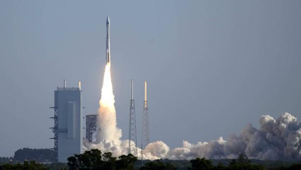 Satellit zur Überwachung ins All geschickt
