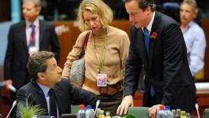 Cameron und Merkel wollen Ausgaben begrenzen