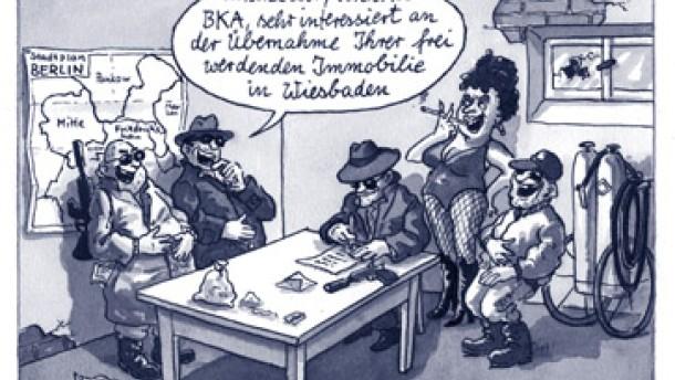 Nur kleiner Teil des BKA zieht nach Berlin um