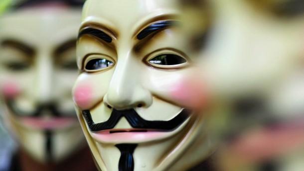 Anonymous hackt Website von Sicherheitsfirma