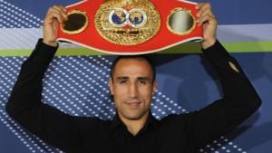 Ärztliches Startverbot für Boxer Abraham