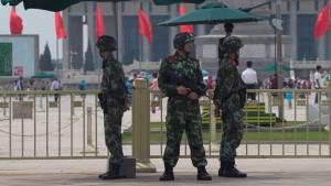 Sicherheitskräfte verhindern öffentliches Gedenken