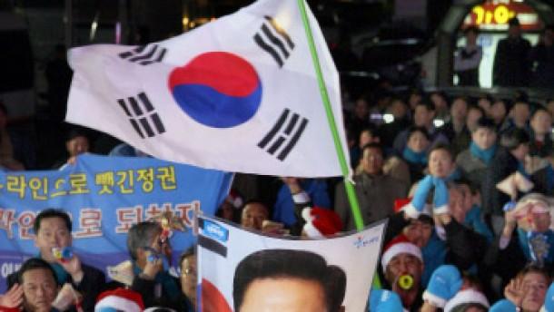 Triumph für Lee Myung-bak