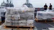 Kokain im Wert von 6 Milliarden Euro beschlagnahmt