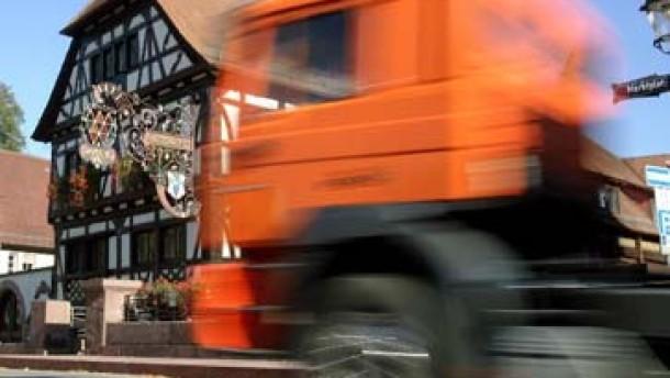 Hessen sperrt 400 Kilometer Straße für Maut-Ausweichler