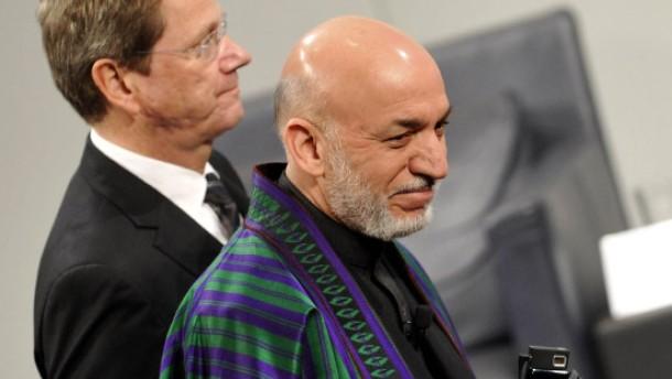 Brief Nach Afghanistan : Sicherheitskonferenz westerwelle deutschland hilft