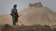 Minenräumung in Palmyra
