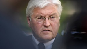 """Steinmeier: """"Wir spielen auf Sieg"""""""