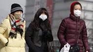Giftige Wolke nimmt Menschen den Atem