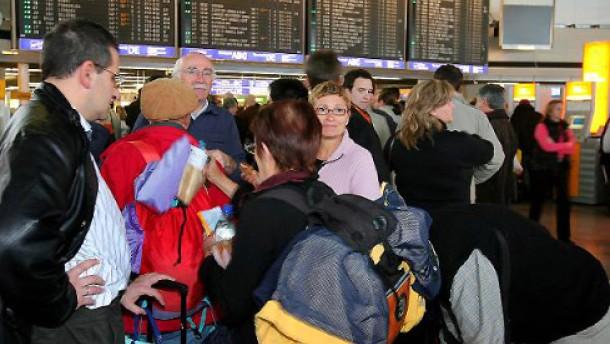 Frankfurter Flughafen mit Passagierrekord