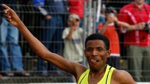 Ein Lauf, zwei Weltrekorde