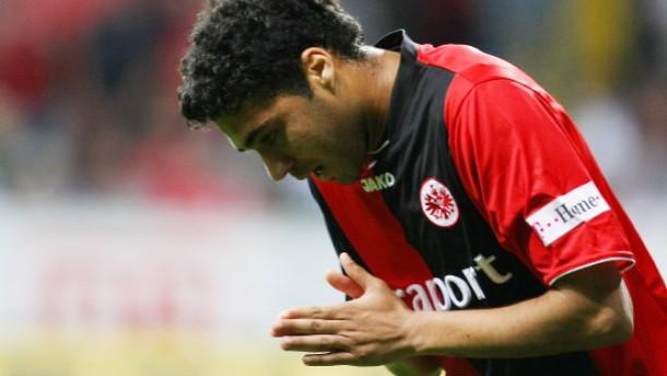 Bundesligaspiel Eintracht Frankfurt - VfL Wolfsburg