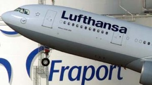 Die Lufthansa macht Fraport Druck