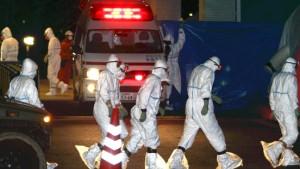 Arbeiter radioaktiv verstrahlt