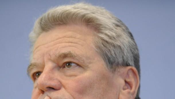 Bürger würden Gauck wählen