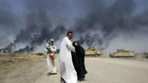 12. Tag: Angriff auf den Verteidigungsring um Bagdad