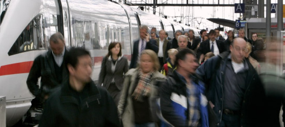 Neubaustrecke Frankfurt Köln Im Berufsverkehr Am Donnerstag
