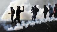 Zusammenstöße zwischen Studenten und Polizei in Mexiko