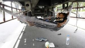 Die Lastwagenfahrer streiken nicht nur in Spanien