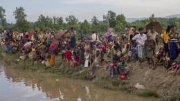 Massenflucht der Rohingya