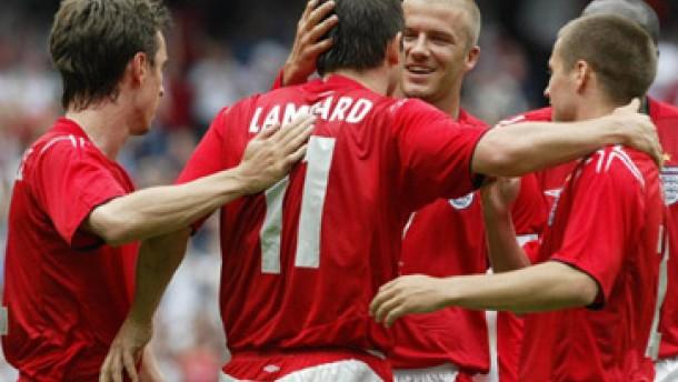 England überzeugt beim 6:1 gegen Island