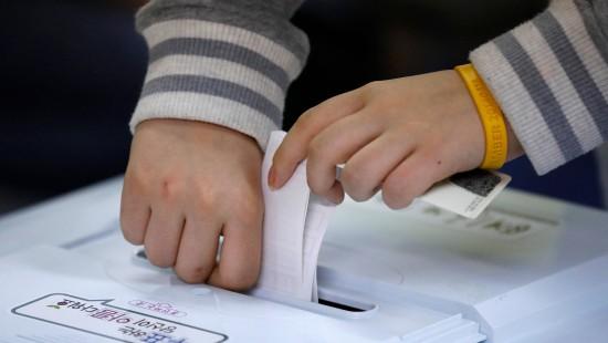 Präsidentschaftswahlen in Südkorea