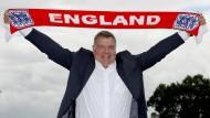 Englands Fußball-Trainer nur kurz im Amt