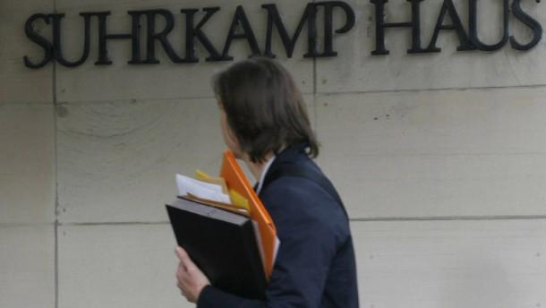 Tendenz gegen weitere Angebote an Suhrkamp