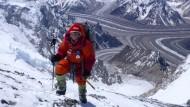 Die beste deutsche Bergsteigerin