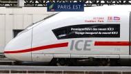 Noch schneller nach Frankreich im ICE 3