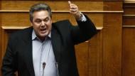 Kammenos warnt Berlin und Brüssel