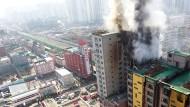 Tote nach Wohnhausbrand nahe Seoul