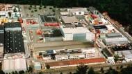 """30 Jahre lang das Zentrum der deutschen Atomwirtschaft - das """"Atomdorf"""" in Hanau-Wolfgang"""