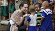 Angelina Jolie besucht Myanmar