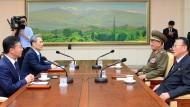 Gespräche zwischen Süd- und Nordkorea