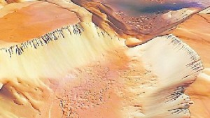 In den Schluchten des Mars