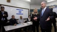 Parlamentswahlen in Israel haben begonnen