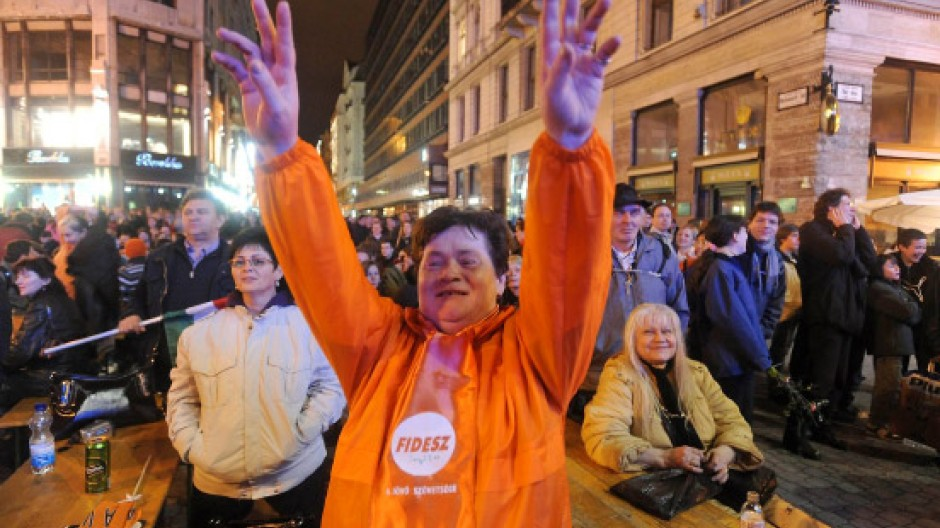 Mehr als 50 Prozent stimmten für den Fidesz