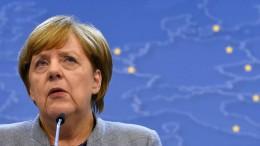 Merkel will EU-Hilfen für Türkei kappen