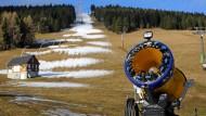 Klimawandel bedroht Wintersport in den Alpen