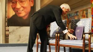 """Appell an Peking: """"Lasst ihn frei"""""""
