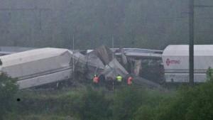 Mindestens drei Tote bei Zugunglück in Belgien