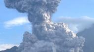 Vulkan Santa Maria ausgebrochen