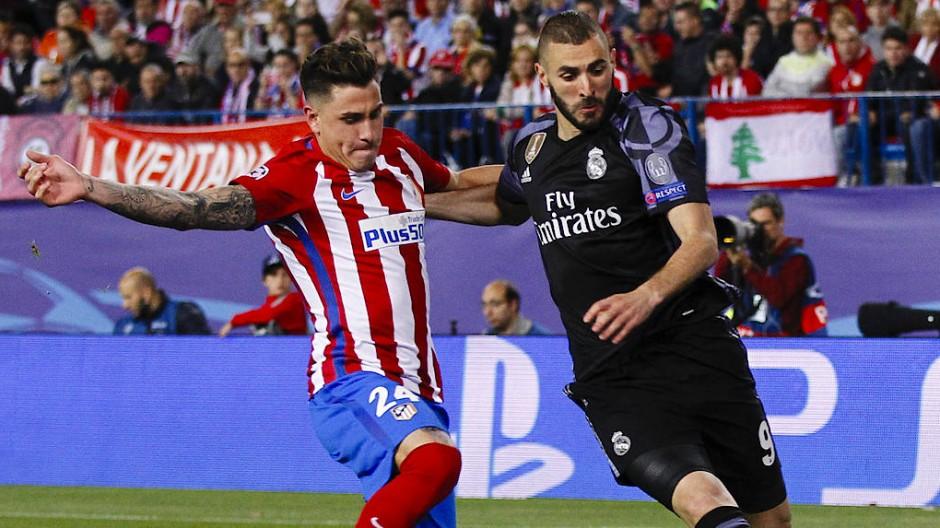 Real gewinnt Madrider Stadtduell ums Finale