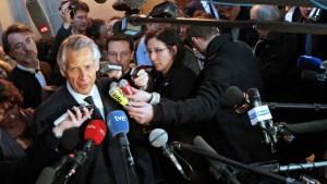 Freispruch für früheren Premier Villepin
